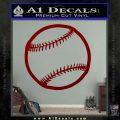 Customizable Baseball 3D Decal Sticker DRD Vinyl 120x120