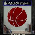 Customizable Basketball Decal Sticker D1 DRD Vinyl 120x120