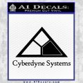 Cyberdyne Systems Jurassic Park Decal Sticker Black Vinyl 120x120