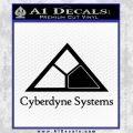 Cyberdyne Systems Jurassic Park Decal Sticker Black Vinyl 120x120