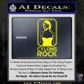 Cylons Rock Bsg Battlestar Galactica D1 Decal Sticker Yellow Laptop 120x120
