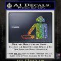 DJ Decal Sticker Stick Glitter Sparkle 120x120