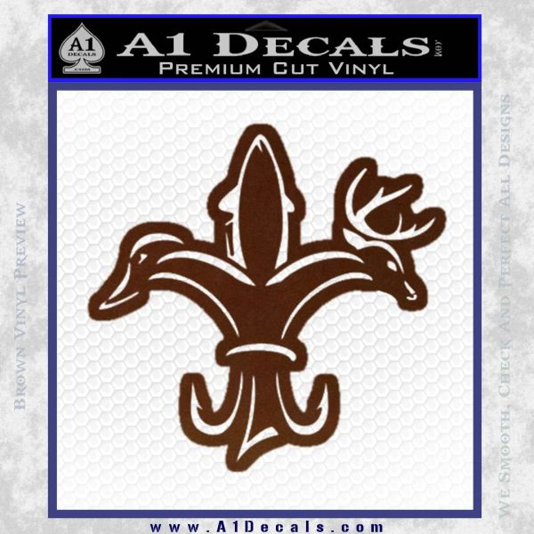 Deer Duck Fish Hunting Fishing Decal Sticker A1 Decals