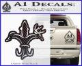 Deer Duck Fish Hunting Fishing Decal Sticker Carbon FIber Black Vinyl 120x97