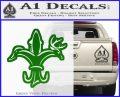 Deer Duck Fish Hunting Fishing Decal Sticker Green Vinyl Logo 120x97