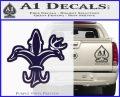 Deer Duck Fish Hunting Fishing Decal Sticker PurpleEmblem Logo 120x97