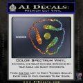Dj 45 Adapter Spider Vinyl Record Decal Sticker Glitter Sparkle 120x120