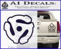 Dj 45 Adapter Spider Vinyl Record Decal Sticker PurpleEmblem Logo 120x97