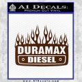Duramax Diesel Decal Sticker GMC BROWN Vinyl 120x120