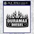 Duramax Diesel Decal Sticker GMC Black Vinyl 120x120