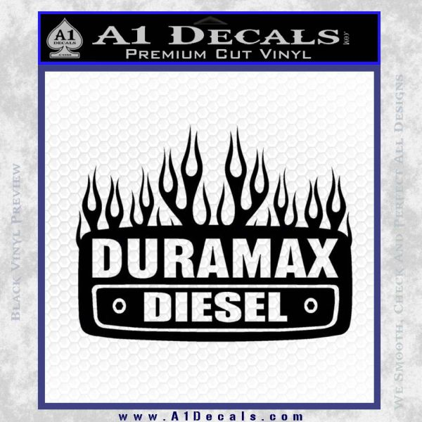 Duramax Diesel Decal Sticker GMC A Decals - Chevy duramax diesel decals