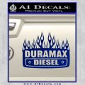 Duramax Diesel Decal Sticker GMC Blue Vinyl 120x120