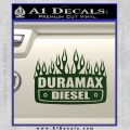 Duramax Diesel Decal Sticker GMC Dark Green Vinyl 120x120