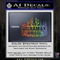Duramax Diesel Decal Sticker GMC Glitter Sparkle 120x120