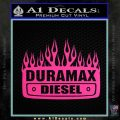 Duramax Diesel Decal Sticker GMC Pink Hot Vinyl 120x120
