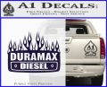 Duramax Diesel Decal Sticker GMC PurpleEmblem Logo 120x97