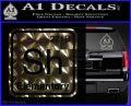 Element Of Deduction Sherlock Holmes Decal Sticker 3DChrome Vinyl 120x97