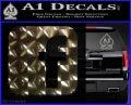 Facebook Customizable Decal Sticker 3DChrome Vinyl 120x97