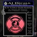 Fire Fighter 9 11 Decal Sticker Pink Emblem 120x120