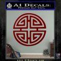 Four Blessing Feng Shui Decal Sticker DRD Vinyl 120x120