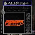 Fox Comp Decal Sticker Orange Emblem 120x120