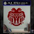 Freemason Scottish Rite Fraternal Decal Sticker D2 DRD Vinyl 120x120