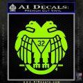 Freemason Scottish Rite Fraternal Decal Sticker D2 Lime Green Vinyl 120x120
