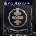 Freemason Tabernacle Of Holy Royal Arch Knight Templar Pries Decal Carbon FIber Chrome Vinyl 120x120