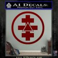 Freemason Tabernacle Of Holy Royal Arch Knight Templar Pries Decal DRD Vinyl 120x120