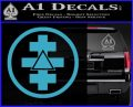 Freemason Tabernacle Of Holy Royal Arch Knight Templar Pries Decal Light Blue Vinyl 120x97
