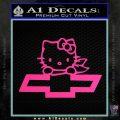 Hello Kitty Chevy Cheverolet D2 Decal Sticker Pink Hot Vinyl 120x120