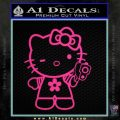 Hello Kitty Gangster Decal Sticker Pink Hot Vinyl 120x120