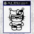 Hello Kitty Harley Quinn Decal Sticker Black Vinyl 120x120