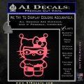 Hello Kitty Harley Quinn Decal Sticker Pink Emblem 120x120