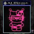 Hello Kitty Harley Quinn Decal Sticker Pink Hot Vinyl 120x120