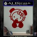 Hello Kitty Panda Decal Sticker DRD Vinyl 120x120