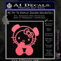 Hello Kitty Panda Decal Sticker Pink Emblem 120x120