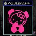 Hello Kitty Panda Decal Sticker Pink Hot Vinyl 120x120