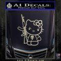Hello Kitty Punish Decal Sticker 12 120x120