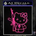 Hello Kitty Punish Decal Sticker 14 120x120
