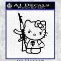 Hello Kitty Punish Decal Sticker 20 120x120