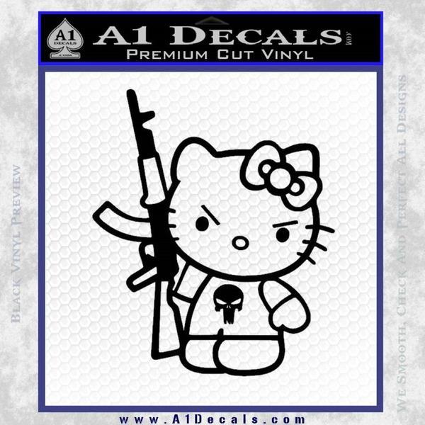 Hello Kitty Punish Decal Sticker 20