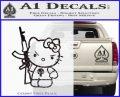 Hello Kitty Punish Decal Sticker 4 120x97