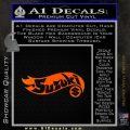 Hot Wheels Suzuki D1 Decal Sticker Orange Emblem Black 120x120