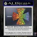 Iron Cross Decal Celtic Sticker D10 Glitter Sparkle 120x120