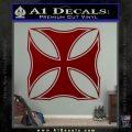 Iron Cross Decal Celtic Sticker D2 DRD Vinyl 120x120