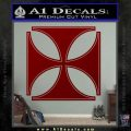 Iron Cross Decal Celtic Sticker D4 DRD Vinyl 120x120