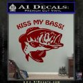 Kiss My Bass Decal Sticker DRD Vinyl 120x120