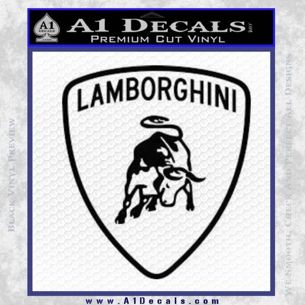 Lamborghini D1 Decal Sticker A1 Decals