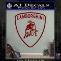 Lamborghini D1 Decal Sticker DRD Vinyl 120x120